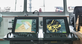 Important things to consider when installing nautical charts on ships?